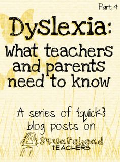 Squarehead Teachers: Famous people who were dyslexic... and visual examples of what dyslexics see. Great read for teachers and parents! (part 4 of 4)