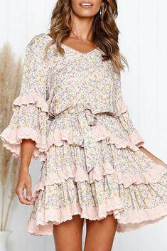 Φόρεμα RALIZA - Κοντά φορέματα   Ivet.EU Short Mini Dress, Short Dresses, Mini Dresses, Dresses With Sleeves, Formal Dresses, Fashion Tips For Women, Womens Fashion, Fashion Brands, Everyday Dresses