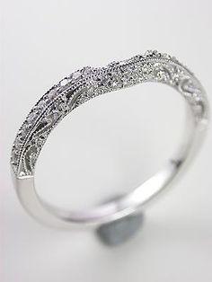 Antique Style Filigree Wedding Ring Rg 2567wb Topazery A Paisley Design