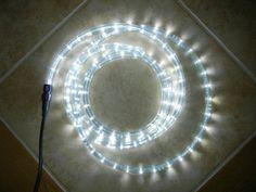 12 Volt Rope Lights Christmas Xmas New Year Lighting Led Rope Light 150Ft White Ii W