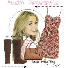 Alison Dilaurentis- have the dress just need the boots