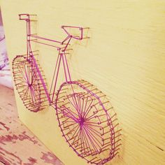 Bicycle String art DIY