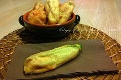 Fiori di zucca in pastella, ricetta semplice e gustosa. http://blog.giallozafferano.it/oya/fiori-di-zucca-in-pastella-ricetta/