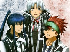 d gray man - This is really rich, visually.  Episode 8 was funny!