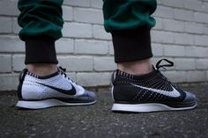Kith NYC Mercer Pant & Nike Flyknit Racer #sneakers #fashion