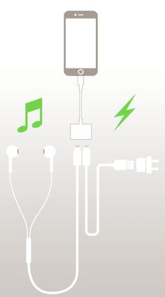 iphone 7 adapter charge & Audio at the same time....ridiculous that this is the only solution besides wireless...