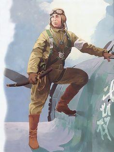 Aviazione Imperiale Nipponica - Pilota da caccia