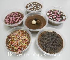 NO SOY UN BLOG DE COCINA→ Recetas paso a paso con imágenes: PANNA COTTA DE CHOCOLATE
