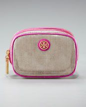 tory burch makeup bag. my beloved henri bendel bag is getting old. this could be the replacement.