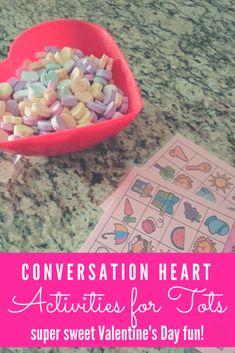 conversation heart a