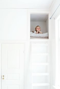 loft bed, photo Krista Keltanen #kid #room