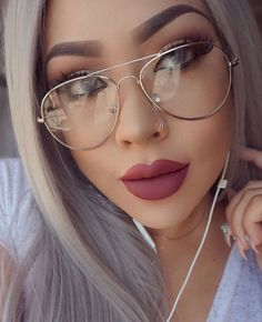49ebeef7bb1b Classic Aviator Clear Lens Gold Metal Small Frame Eyeglasses Glasses  AW   Aviator Pilot Glasses