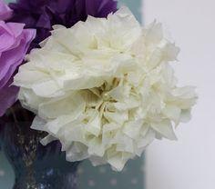 bloemen van zijde papier