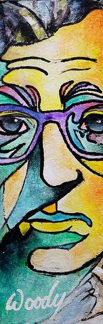 Woody Allen by BeistelDesign, via Flickr