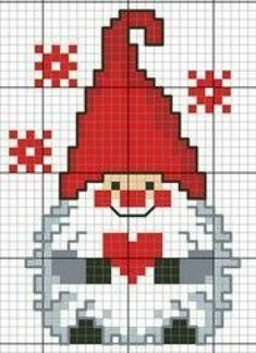 Source by 45 Ideas Embroidery Christmas Patterns Navidad heart gnome cross stitch. New No Cost Embroidery Designs with beads Popular Thank you for visiting hands adornments! Embroidering can be quite a enjoyable artistic shop to main Pinguin Xmas Cross Stitch, Cross Stitch Charts, Cross Stitch Designs, Cross Stitching, Cross Stitch Embroidery, Embroidery Patterns, Christmas Cross Stitch Patterns, Embroidery Bags, Scandinavian Gnomes