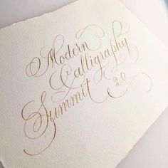 Registration for Modern Callgraphy Summit 2.0 is now open, but only for 5 days!! 🎉 If you already registered for the early bird price, you're all set and the first class will launch Feb 20th. This is just another opportunity for those who want to get in on all the hype and missed out on registration last year. --- I've gotten many requests for an online course, and so I'm thrilled and honored to be part of MCS 2.0 this year to teach all the basics of Copperplate Calligraphy with a bit of…