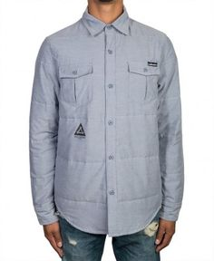 The Hundreds - Weiland Woven L/S Button-Up - $79