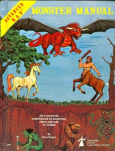 D&D cover art for rulebooks of various editions of the Dungeons & Dragons tabletop RPG game. Dungeons And Dragons Art, Advanced Dungeons And Dragons, Gary Gygax, D Book, Dnd Art, Sci Fi Horror, Sword And Sorcery, Fiction Novels, Medieval Fantasy
