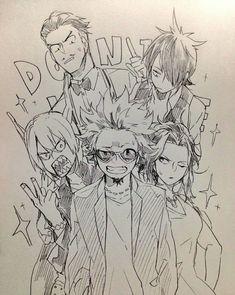 Boku no Hero Academia || Tenya Iida, Todoroki Shouto, Kirishima Eijirou, Midoriya Izuku, Momo Yaoyorozu.