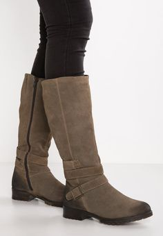Boots - pepper - Zalando.co.uk Riding Boots, Knee Boots, Pepper, Wedges, Shoes, Fashion, Horse Riding Boots, Moda, Zapatos