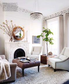 Salón de la revista Elle Deco | Elle Deco magazine - livingroom