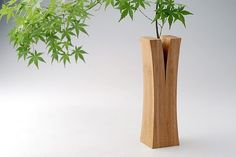 Bamboo Vase by Japanese design collective Teori