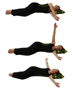 Pilates for cervical spine strength and stretch