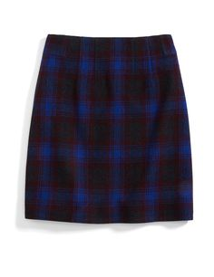 Stitch Fix Monthly Must-Haves: Get into the holiday spirit with a classic plaid skirt in a modern color palette. Pair it with mustard tights for a retro vibe.