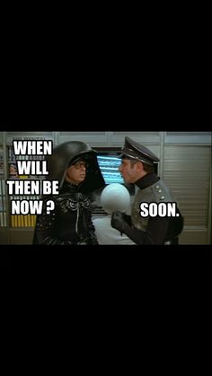 How to answer children's illogical questions.. | from the movie Spaceballs