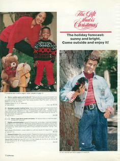"""Oh, man, this was worth many laughs today!!  Be sure to look at the entire spread, but my favorite is #5, """"Here's your requisite """"handsome male in mom jeans with a puppy"""" shot."""""""
