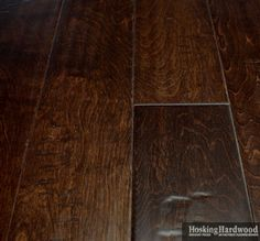 Hardwood Floors: Shenandoah Scraped - 5 IN. Aged Harmony Collection - Bourbon