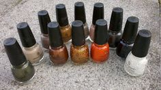 The Hunger Games Collection (China Glaze)!