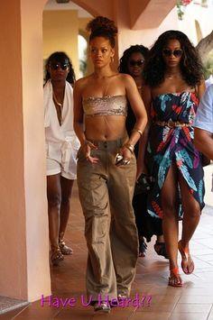 Rihanna Enjoys Vacation Time in Italy - Photos