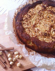 Torta di mele, nocciole e avena. Re-Cake 2.0