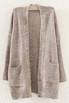 Long sweater //