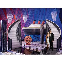 Our Ship of Dreams Kit will bring the beauty of the a ship to your event.