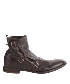 Brown Buckled Monk Boot, Alexander McQueen