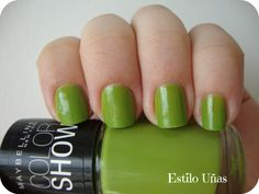 Estilo Uñas: Color Show - Go Go Green