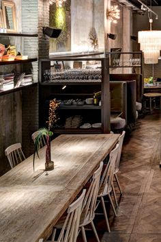 CAFE BERIESTAIN , concept stoer, Barcelona
