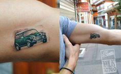 Lefteris Toulis toulistattoocrew mini cooper