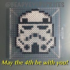 Stormtrooper - Star Wars perler beads by beadyeyedsprites