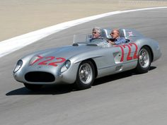 Mercedes-Benz 300 SLR Roadster w/Sterling Moss and Jay Leno