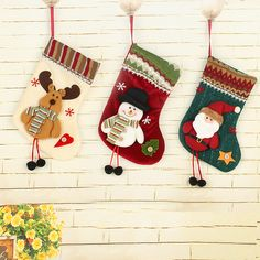 1pc New Year 2017 Luxury Christmas Decoration for Home Christmas Boot Decoration Socks Ornament Supplies //Price: $9.95 & FREE Shipping //     #hashtag1