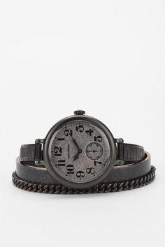 twelvethreesixnine By Sonja Nuttall Stretch Bracelet Watch