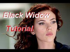 Black Widow/ Scarlett Johansson Tutorial -A natural beauty look