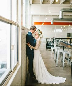 modest wedding dress with long sleeve and a flowy skirt from alta moda. --(modest bridal gown)--