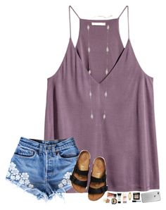 """""""friday & 81°"""" by hopemarlee ❤ liked on Polyvore featuring Birkenstock, Kendra Scott, Bobbi Brown Cosmetics, Kate Spade, NARS Cosmetics, NYX and hmsloves"""