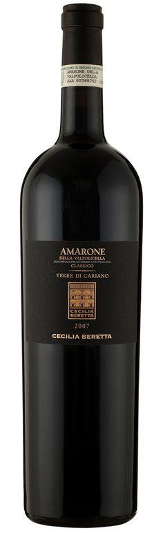 Harry J. Morris Wine Blog: Cecilia Beretta, Terre Di Cariano Amarone Classico 2007