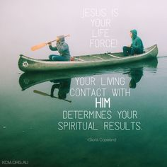 JESUS is your life force! #GloriaCopeland
