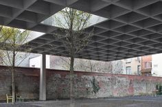Baukunst - Structure and gardens, Brussels 2014 |  Maxime Delvaux » Architectures